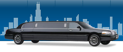 stretch limousine going to Chicago