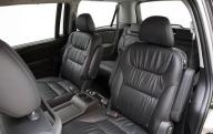 5 passenger Honda Mini Van 2010 interior of limo