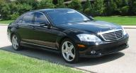 3 passenger Mercedes Benz s550 Sedan 2010
