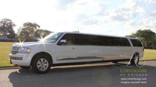 14 passenger Lincoln Navigator SUV limousine