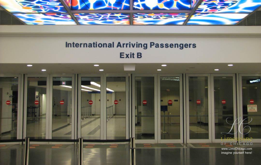 O'Hare terminal 5 exit B