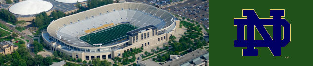 Limousine service to Notre Damme in South Bend,  Indiana for Football games