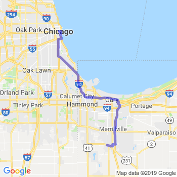 Limousine service to Chicago Loop