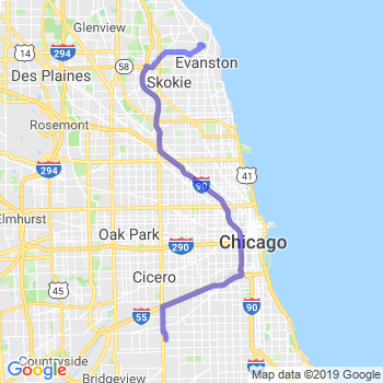 Limousine Service Between Evanston Il And O Hare Midway Airport