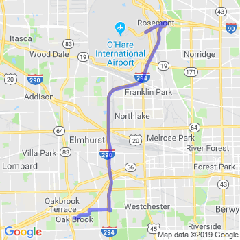 Limousine service to O'Hare airport (ORD)